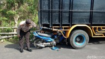 Biker Ngebut Tabrak Truk Parkir, Satu Pelajar Tewas