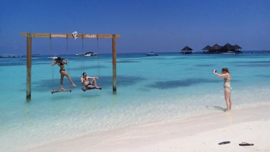 Pulau Cantik di Maldives yang Bikin Betah Liburan