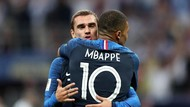 Griezmann-Mbappe di Timnas Prancis, Kawan atau... Lawan?