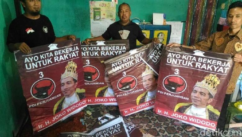Raja Jokowi Banyumas Ternyata Dipasang Pro-Jokowi