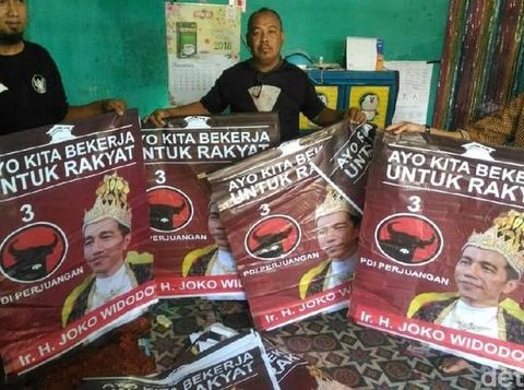 Gudang 'Raja Jokowi' di Banyumas.