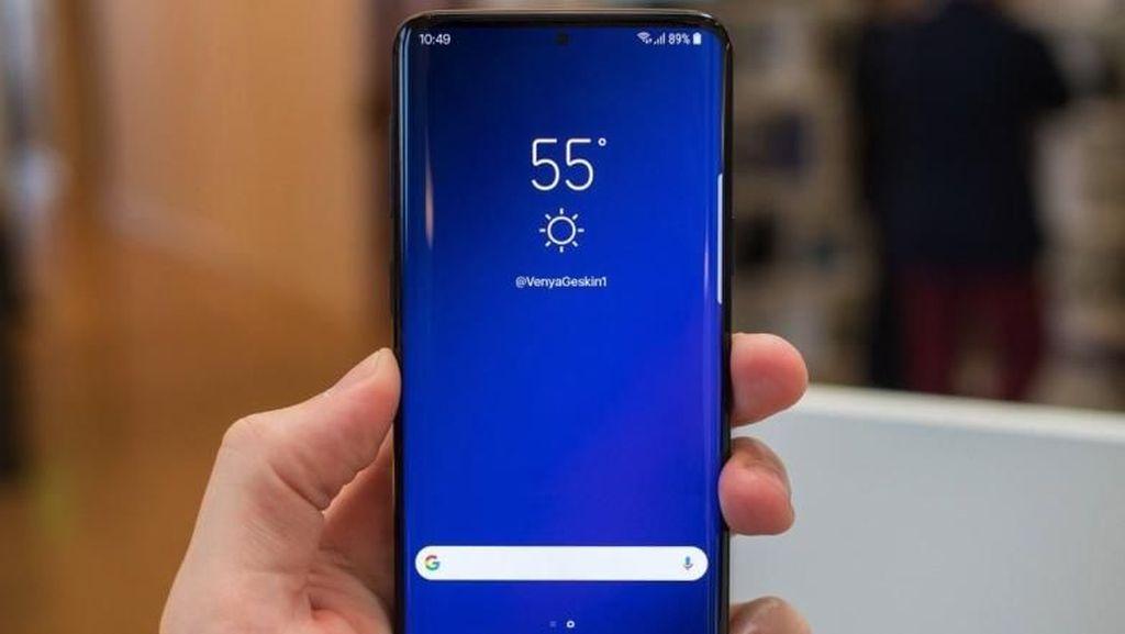 Bocoran Anyar Samsung Galaxy S10: Tanpa Bezel Sama Sekali