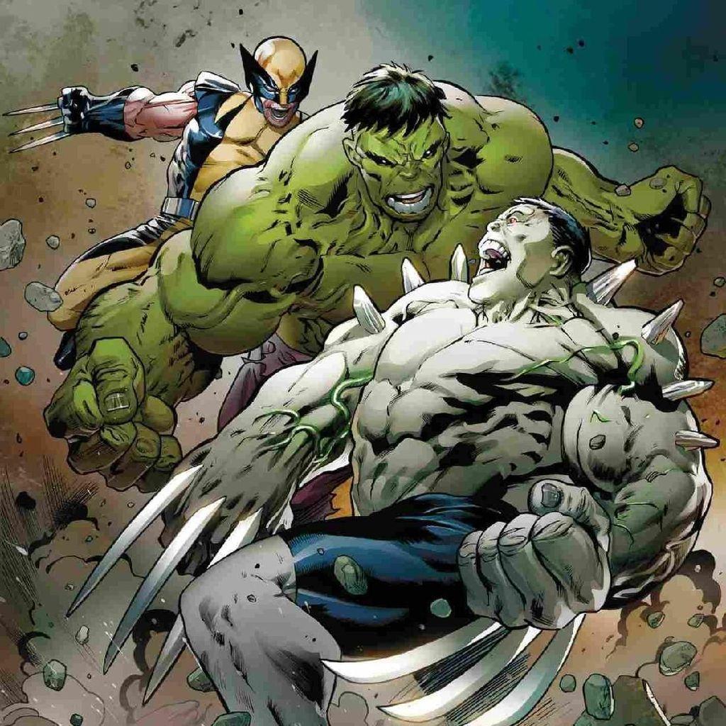 Marvel Comics Umumkan Wolverine dan Hulk Bersatu dalam Hulkverines