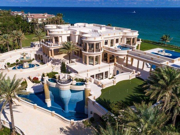 Rumah ini dijual US$ 159 juta (Rp 2,3 triliun). Architecturaldigest/Nickolas Sargent.