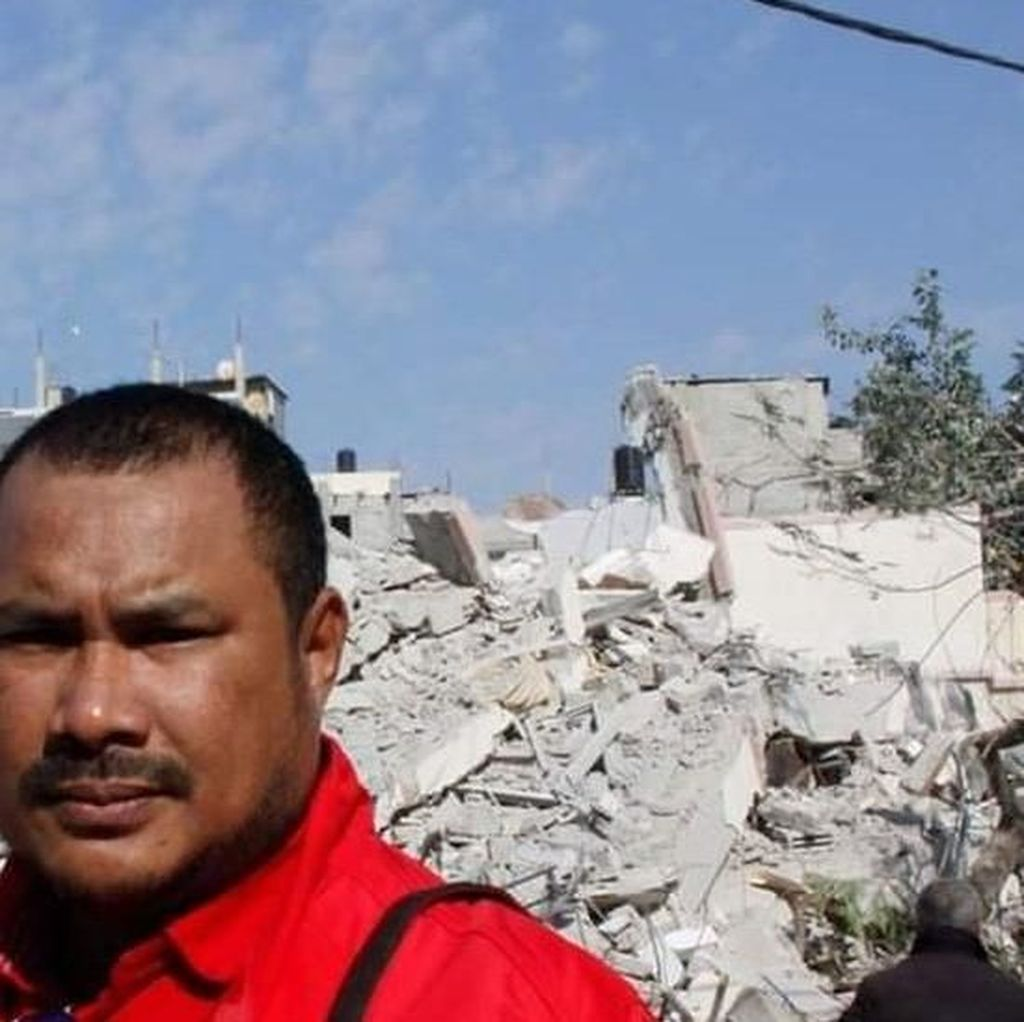 Relawan RI: Malam Maut di Gaza, Tak Ada Jaminan Kondisi Tetap Normal
