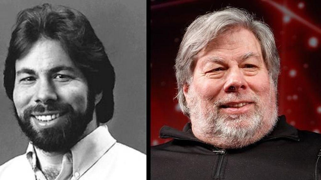 Ini Steve Wozniak, salah satu pendiri Apple, yangmasih setia dengan brewok. (Foto: Bright Side)