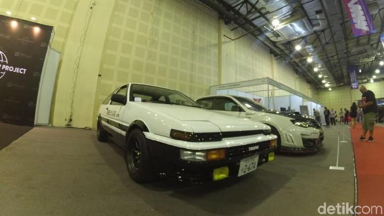 Modifikasi Toyota AE 86 Foto: Luthfi Anshori/detikOto