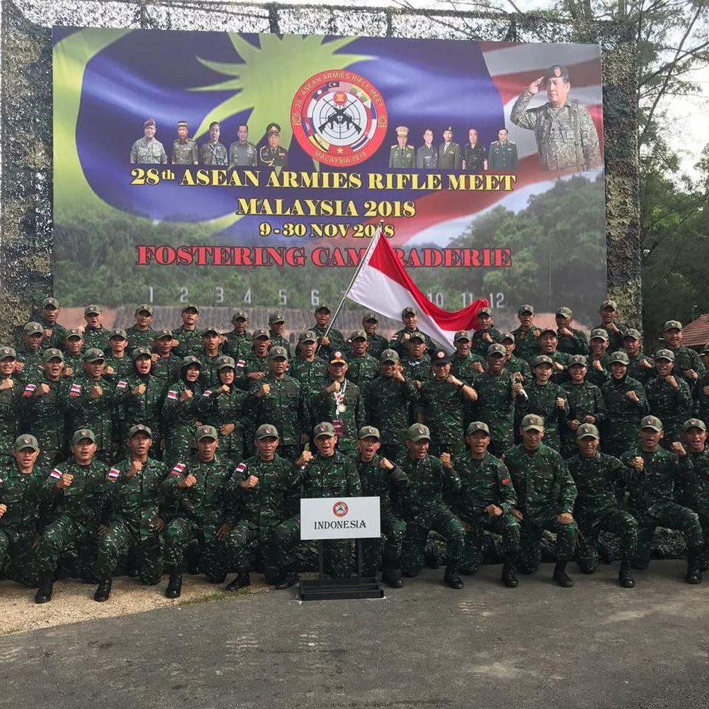 Pesan Wakasad ke Prajurit TNI yang Berlomba di AARM 2018 Malaysia