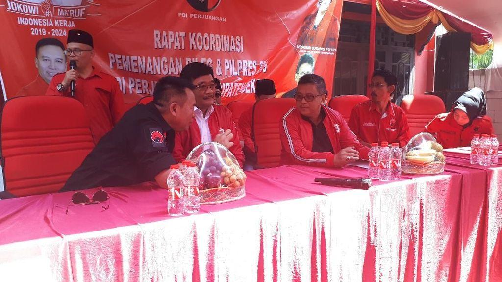 PDIP Targetkan 60 Persen Suara Jokowi-Maruf di Bekasi
