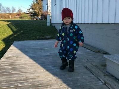 Keseruan Alita, Anak Alice Norin Saat Mudik ke Norwegia