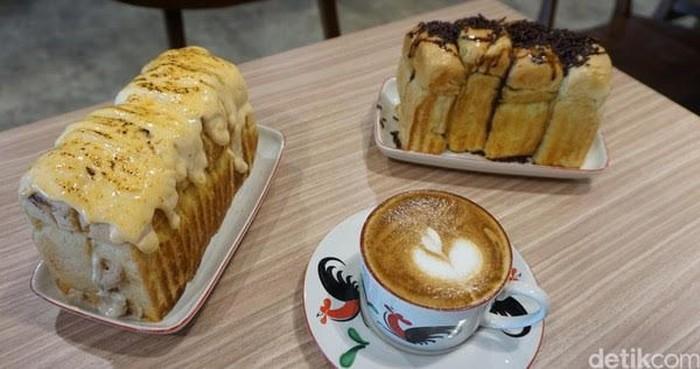 roti bakar enak di Jakarta