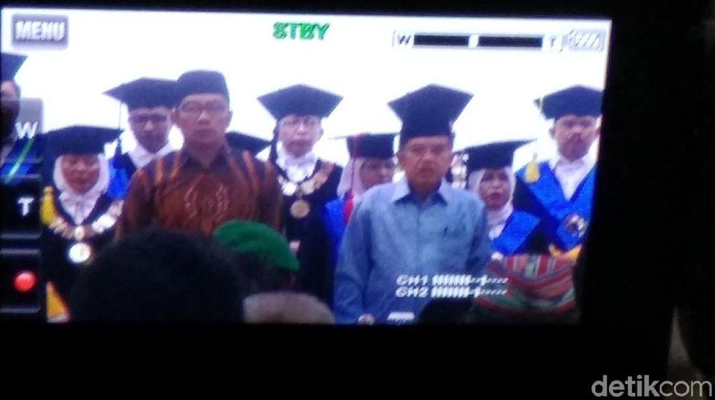 Di Depan Ridwan Kamil, JK Ingatkan Banjir di Jabar