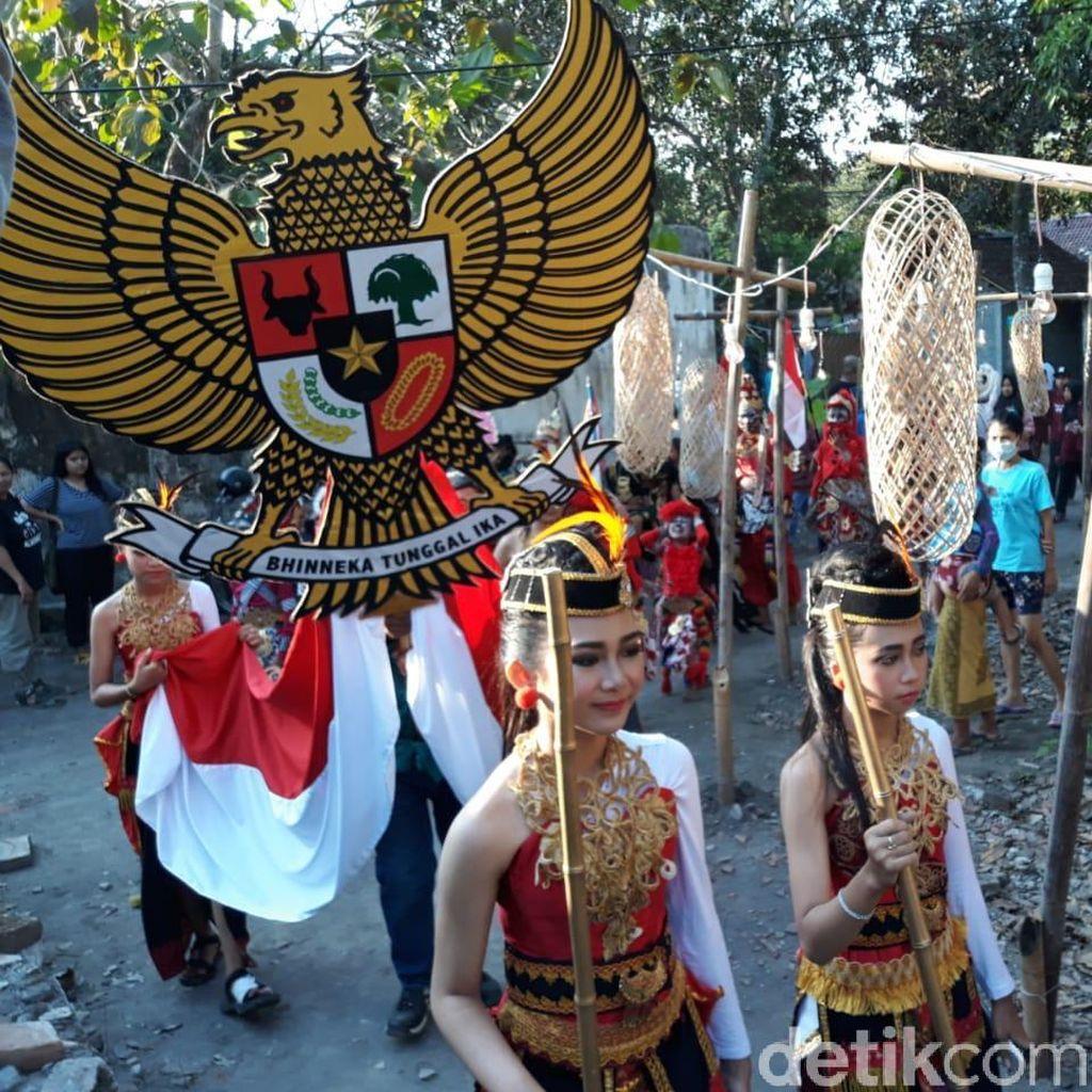 Kirab Budaya Awali Pembukaan Ngayogjazz 2018
