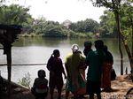 Lokasi Penampakan Buaya di Bengawan Solo Ramai Didatangi Warga