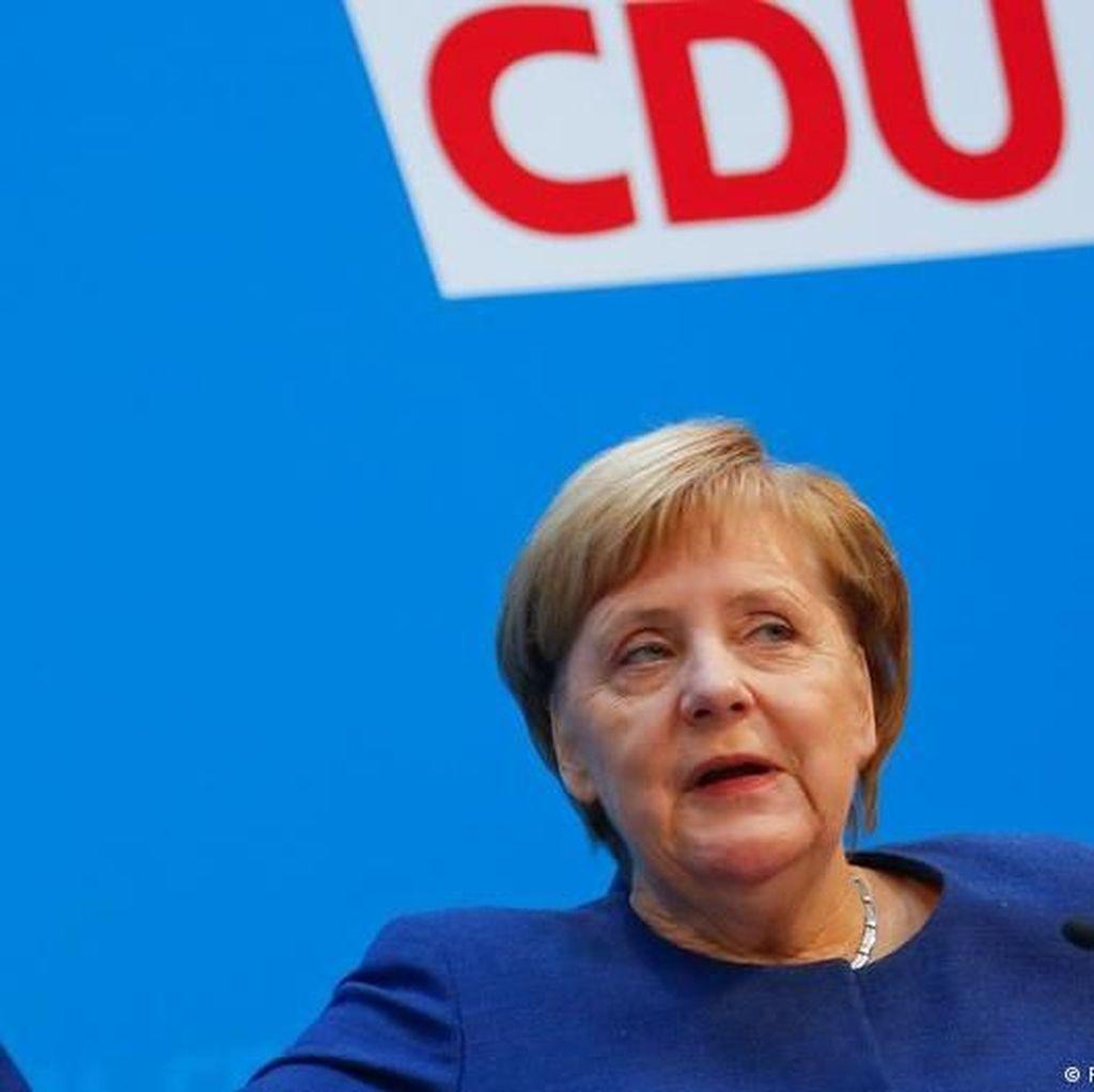 Mayoritas Warga Jerman Ingin Angela Merkel Selesaikan Masa Jabatan