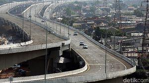Hampir Rampung, Ini Tol Becakayu Ruas Casablanca-Cipinang Melayu