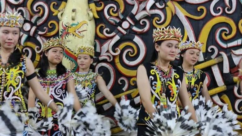 6 Fakta Suku Dayak: Gadis Cantik hingga Tatto/Foto: (Ira Filanisa/dtraveler)