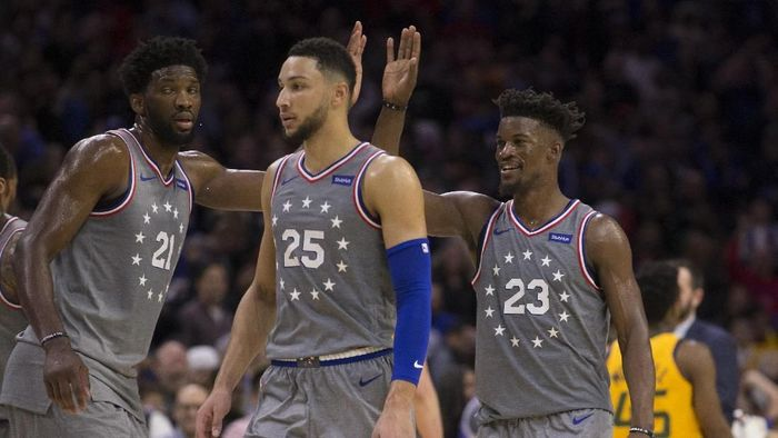 Jimmy Butler bawa Sixers taklukkan Utah Jazz (Mitchell Leff/Getty Images)