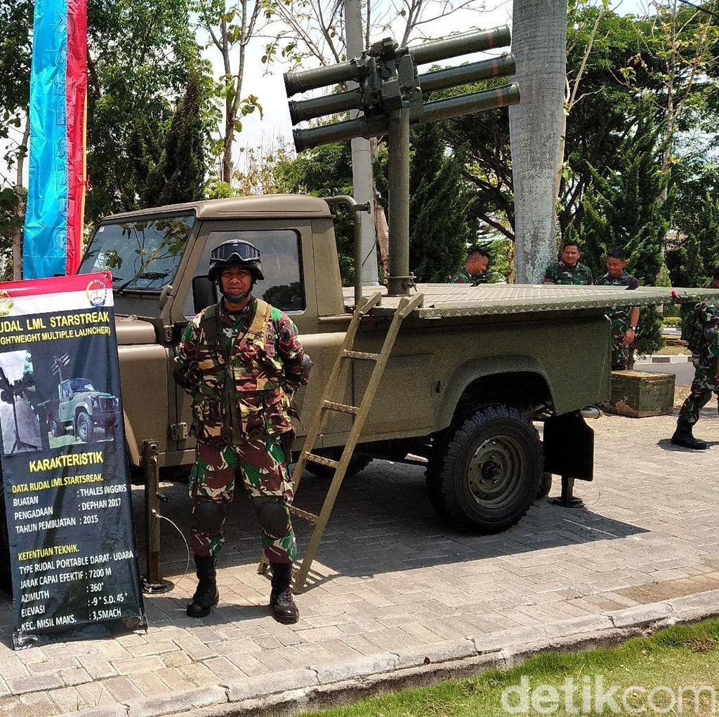 Ini Lho Deretan Alutsista Modern yang Dimiliki TNI AD