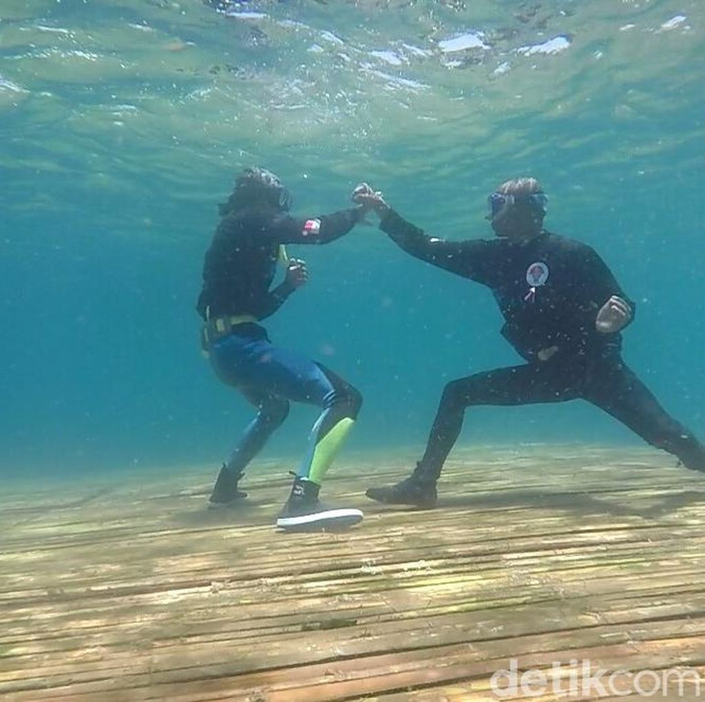Seribu Pendekar Gelar Silat On The Sea di Banyuwangi