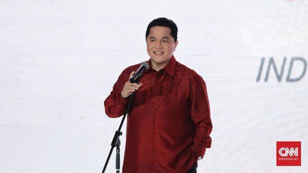 Erick Thohir Bantah Ma'ruf Amin dalam Kondisi Sakit
