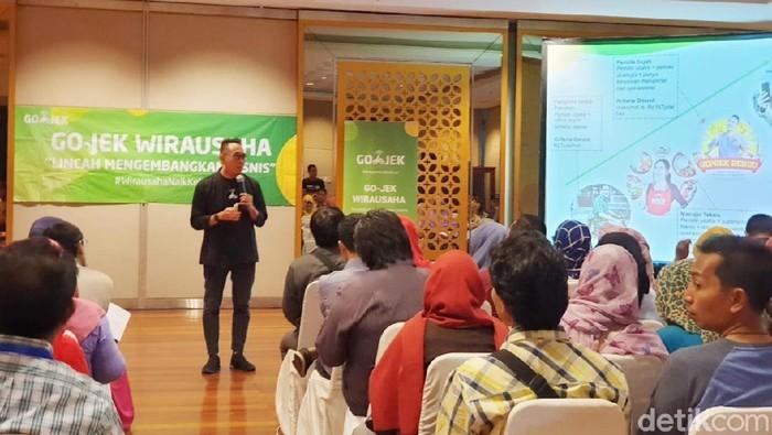 Brand and Marketing Expert Erwin Panigoro berbagi tips buat pelaku UKM (Foto: Adi Fida Rahman/detikINET)