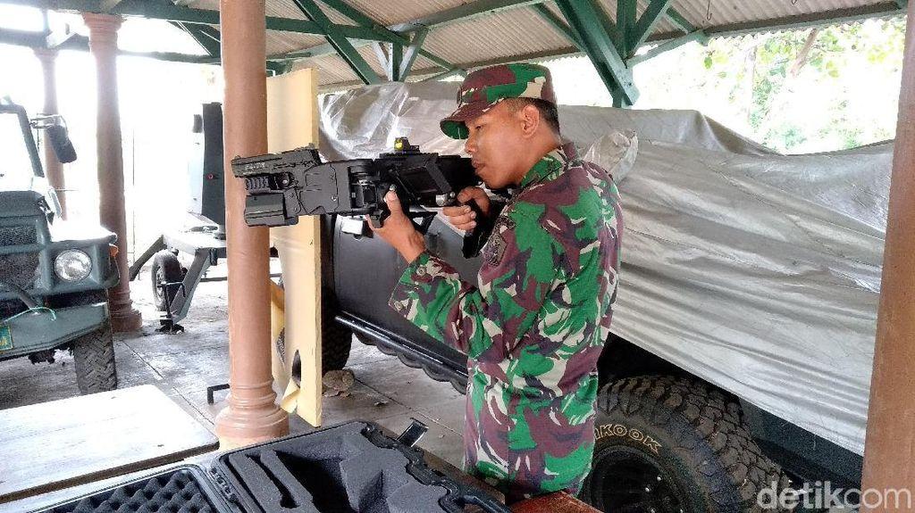 Corner Shot, Senjata Karya Poltekad Untuk Pasukan Khusus TNI