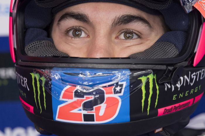 Maverick Vinales pakai nomor 12 di MotoGP 2019. (Foto: Mirco Lazzari gp/Getty Images)