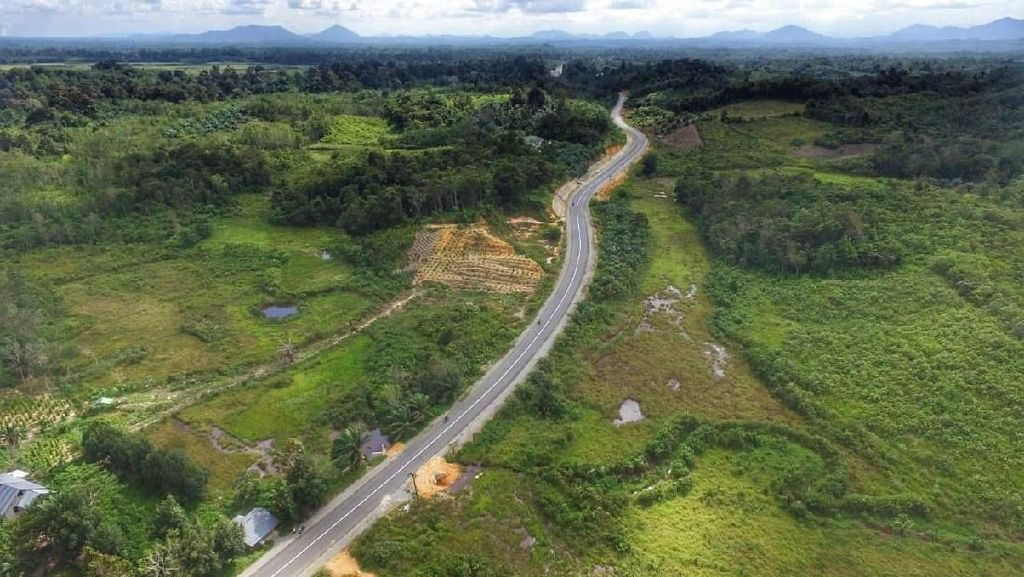 Jokowi Lanjutkan Pembangunan Trans Papua dan Perbatasan di 2020