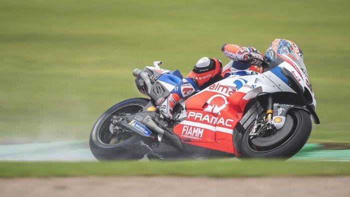 Danilo Petrucci tercepat di latihan bebas ketiga MotoGP Valencia. (Foto: Mirco Lazzari gp/Getty Images)