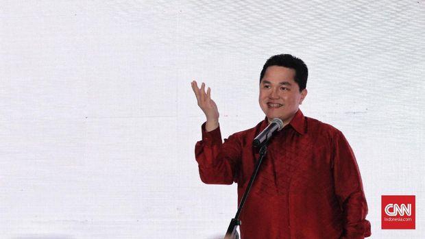 Erick Thohir diklaim tidak mendapat izin dari keluarga menjadi Ketua Umum PSSI.