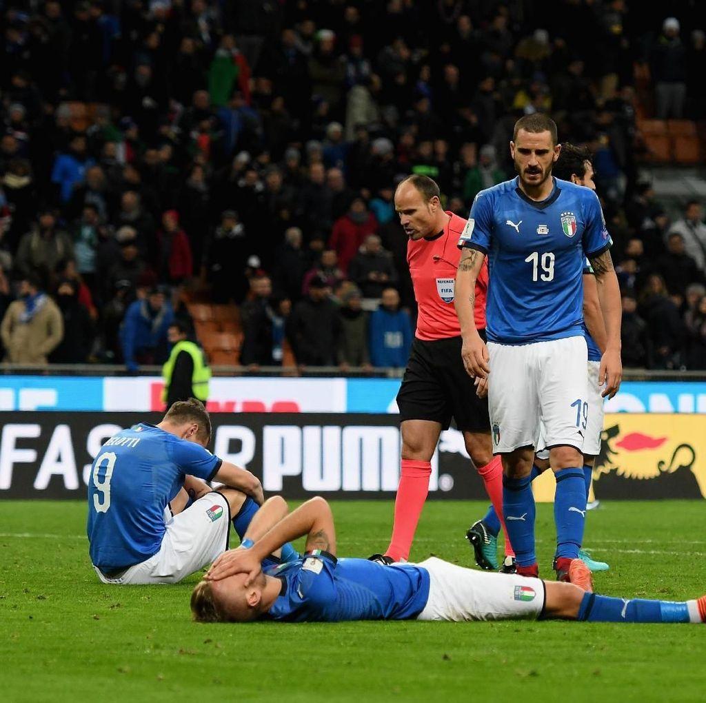 Bonucci Takkan Bisa Lupakan Kegagalan Italia ke Piala Dunia 2018