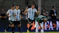 Hasil Laga Uji Coba: Argentina Bekuk Meksiko 2-0