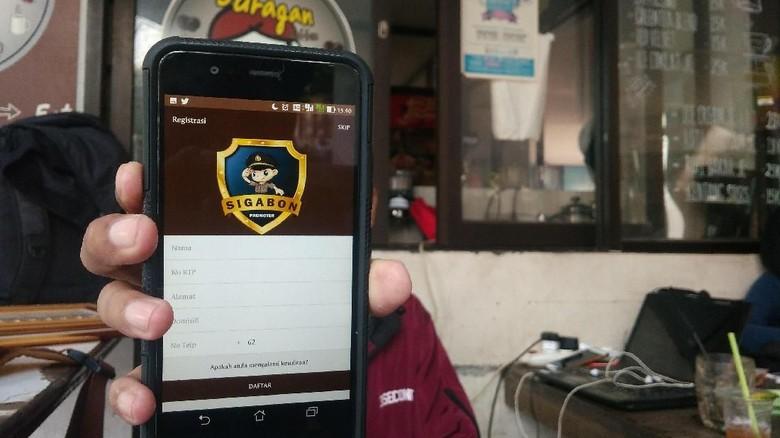 Polres Cirebon Bekuk Pelaku Curanmor Berkat Aplikasi Sigabon