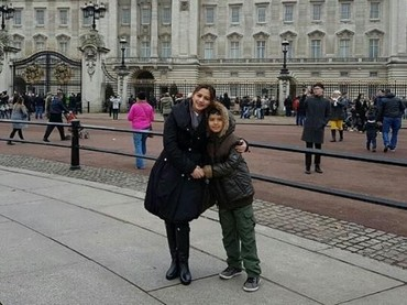 Liburan bersama anak di musim dingin seperti Cut Keke (https://hot.detik.com/celeb/1067425/domain_name) dan Xavier sepertinya seru ya, Bun (Foto: Instagram/ @cutkeke_xavier)