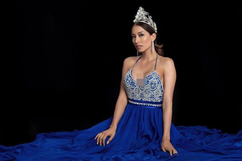 Elena Correa adalah Miss Kosta Rika 2017. Sebelumnya Elena bekerja sebagai dokter dan suka jalan-jalan. (elenacorreau/Instagram)