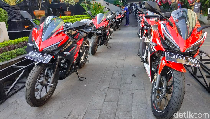 Puluhan Honda CBR150R dan PCX Siap Panaskan Honda Bikers Day
