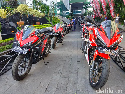 Puluhan Honda CBR 150 R dan PCX Siap Panaskan Honda Bikers Day