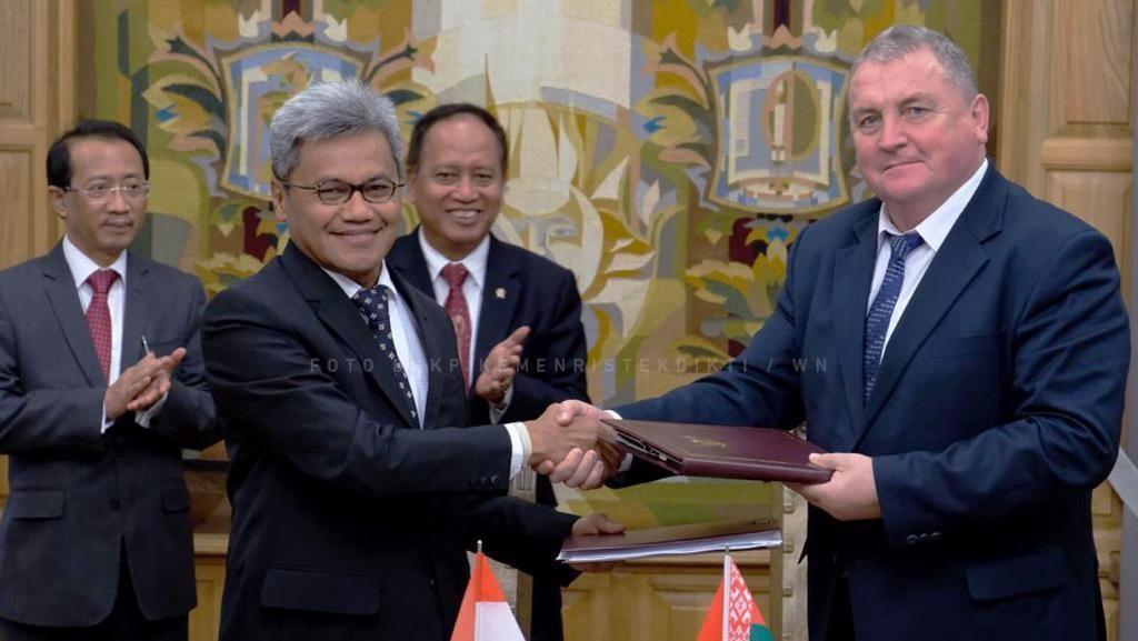 Indonesia-Belarus Sepakati Kerja Sama Riset dan Teknologi