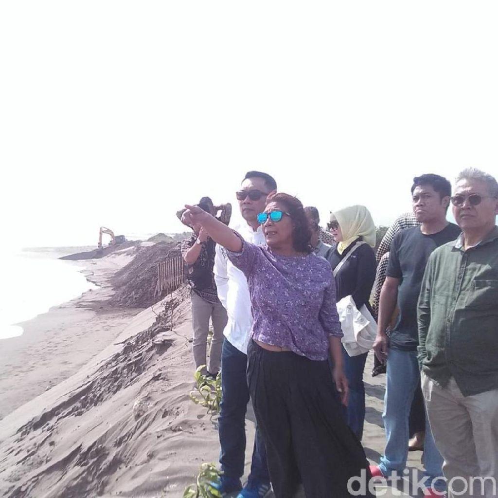 Bertemu Bu Susi di Pangandaran, Ridwan Kamil Bahas Soal Banjir