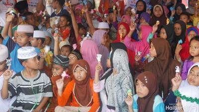 Cerita Pilu Anak-anak Korban Gempa Lombok, Tetap Semangat di Pengungsian