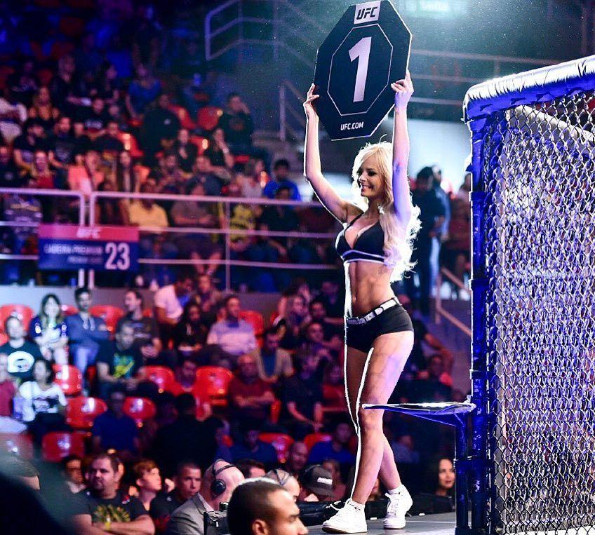 Liburannya Gadis Papan Ronde Seksi UFC, Jhenny Andrade
