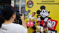 Mickey Mouse Kini Berusia 90 Tahun, Apa Saja Keseruan Perayaannya?