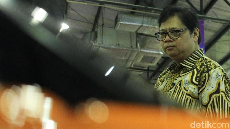 Menperin Airlangga Hartarto Foto: Rifkianto Nugroho