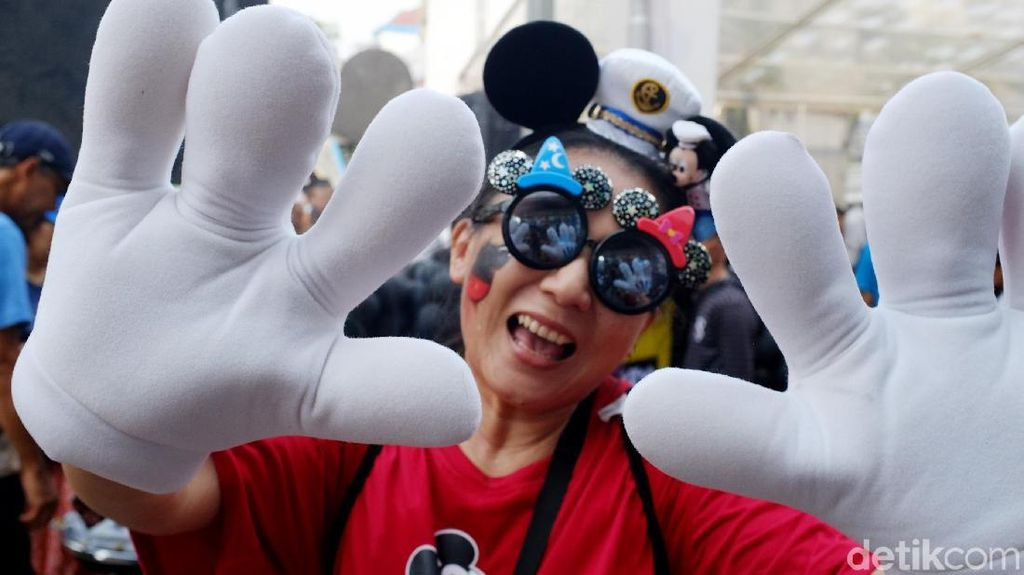 Ramainya Peringatan HUT ke-90 Mickey Mouse di Sarinah