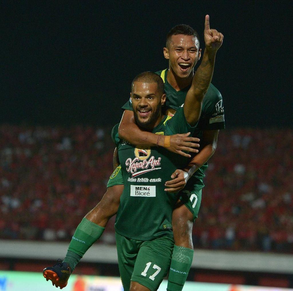 Persebaya Pesta Gol ke Gawang Bali United