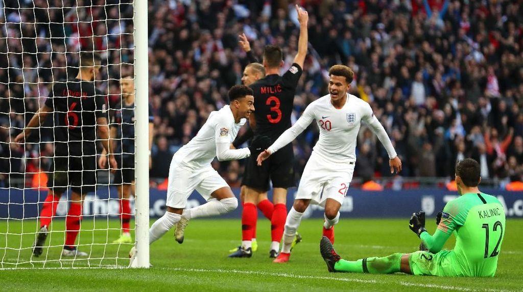 Kalahkan Kroasia, Inggris ke Semifinal UEFA Nations League
