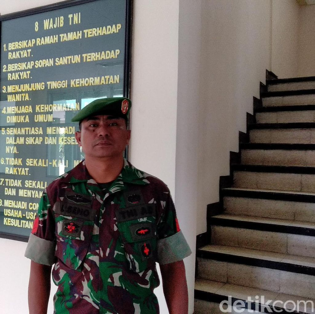 Cerita Kopral Laseno, Tamtama TNI AD Calon Doktor