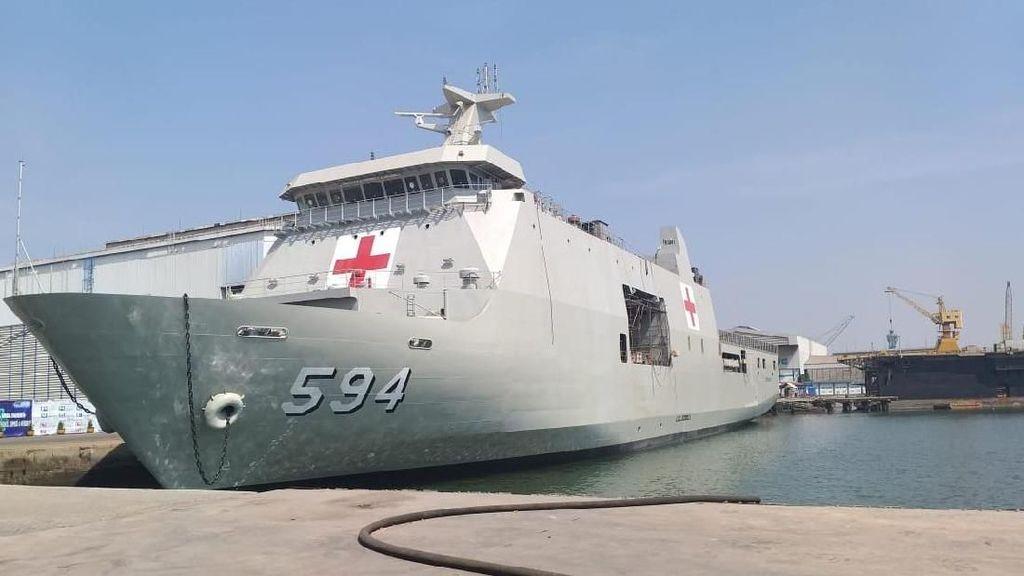 Ngintip Fasilitas Kesehatan di Kapal Bantu Rumah Sakit KRI Semarang