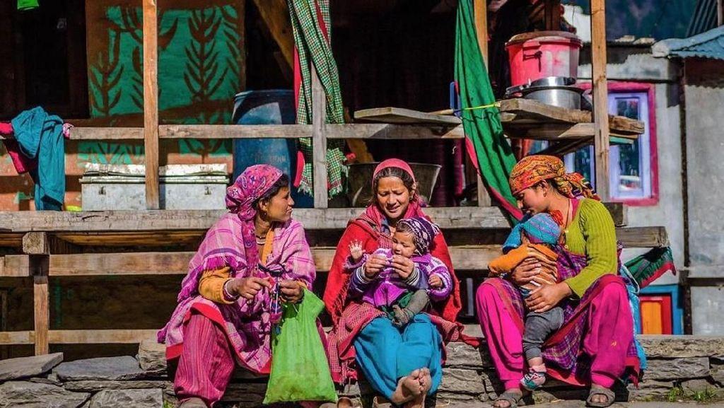 Wah! Ada Desa Mirip Baduy di Himalaya